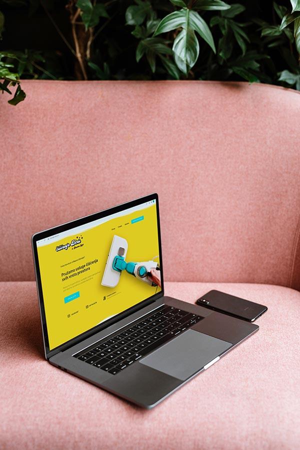 Izrada web stranice - Doris čišćenje